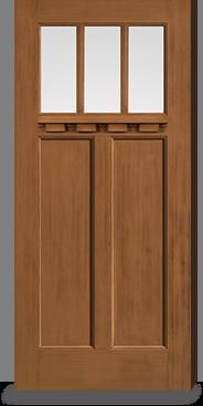 & Oak Collection™ | TBO141-CL23GF | Benchmark Doors