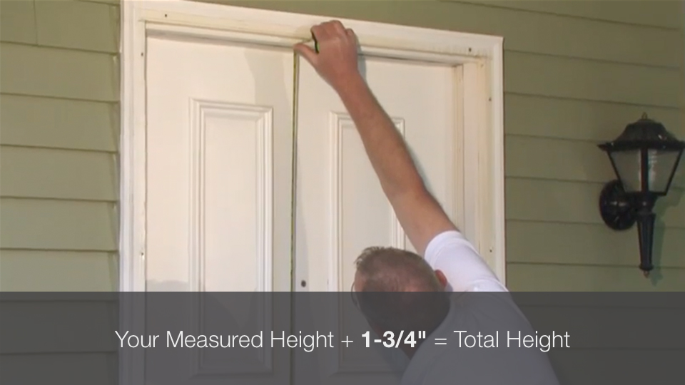 How To Measure Your Existing Rough Opening Benchmark Doors