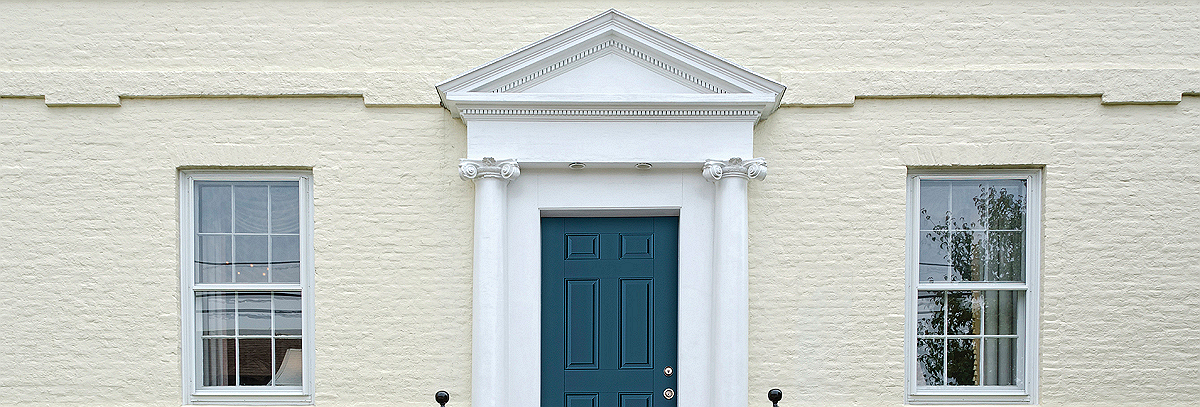 Attrayant Create An Even More Unique Entryway By Combining Distinguished Door  Surrounds From Fypon® With Your New Therma Tru Benchmark Door.
